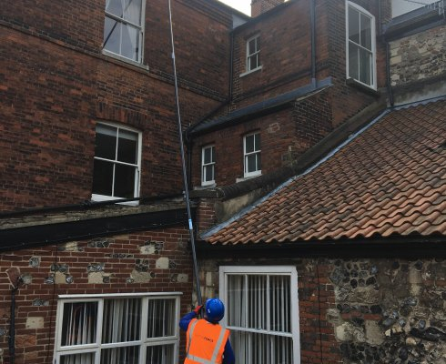 GUTTER CLEANING SUFFOLK
