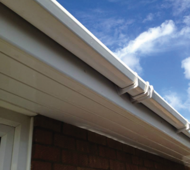 Fascia and gutter washing